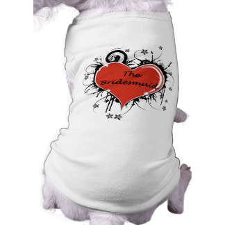 The Bridesmaid Sleeveless Dog Shirt