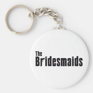 The Bridesmaids (Mafia) Basic Round Button Key Ring
