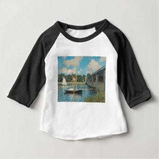 The Bridge at Argenteuil - Claude Monet Baby T-Shirt