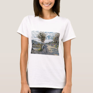 The Bridge at Bougival by Claude Monet T-Shirt