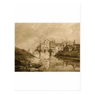The Bridge at Durham Postcard