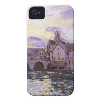 The Bridge at Moret at Sunset by Alfred Sisley Case-Mate iPhone 4 Cases