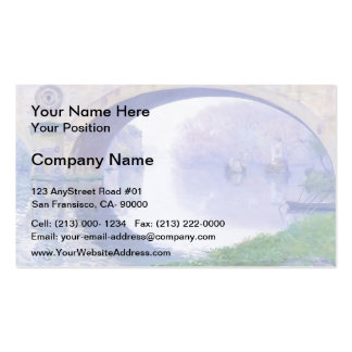 The Bridge at Vernon by Guy Rose Business Card Templates