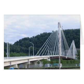 The Bridge from Kentucky 2 Ohio Greeting Card