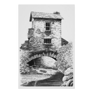 The Bridge House, Ambleside Poster