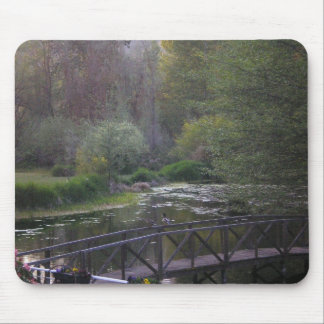 The bridge in the meadow mouse pad
