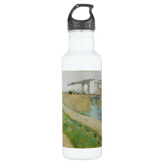 The Bridge of Langlois by Vincent Van Gogh 710 Ml Water Bottle