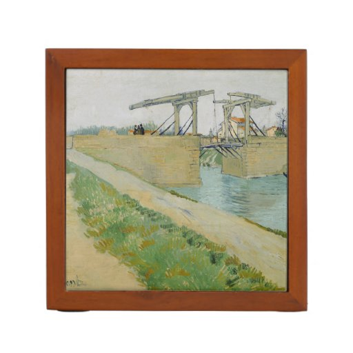 The Bridge of Langlois by Vincent Van Gogh Pencil Holder