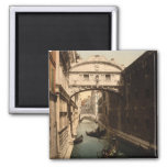 The Bridge of Sighs II, Venice, Italy Refrigerator Magnets