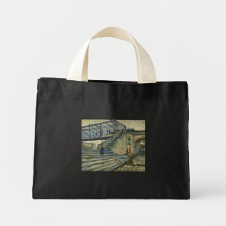 The Bridge of Trinquetaille - Vincent Van Gogh Tote Bags