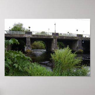 The Bridge (Part) In Kilcullen, Co. Kildare Poster