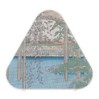 The Bridge with Wisteria or Kameido Tenjin