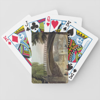 The Bridges over the Canal in Sydney Gardens, from Bicycle Poker Deck