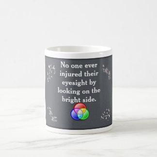 the bright side - coffee cup basic white mug