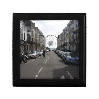 The Brighton Wheel in Brighton, UK Small Square Gift Box
