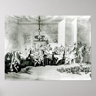 The Brilliants, 1801 Poster