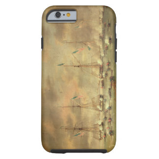 The British and American Fleets Engaged on Lake Bo iPhone 6 Case