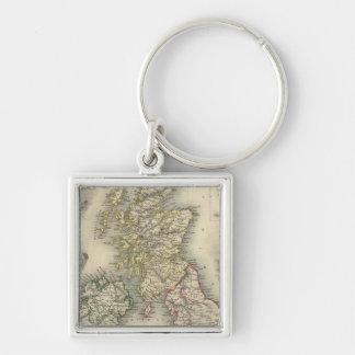 The British Isles Keychain