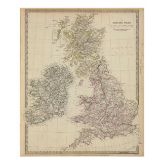 The British Isles Poster