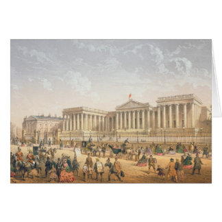 The British Museum, c.1862 (colour litho) Card