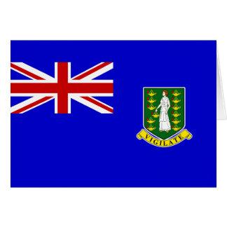 The British Virgin Islands Flag Cards