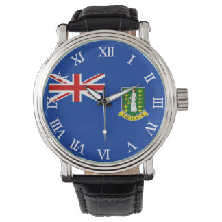 The British Virgin Islands Flag Wristwatches