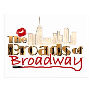 The BROADS of BROADWAY Postcard