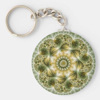 The Broccolator - Fractal Art Key Ring