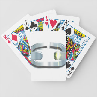 The Broken Link Bicycle Playing Cards