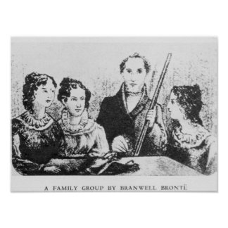 The Bronte Family Poster
