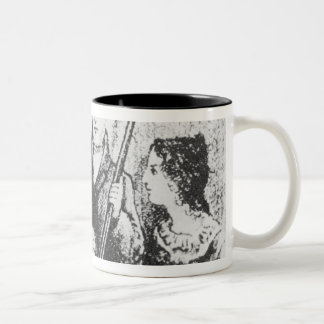 The Bronte Family Two-Tone Coffee Mug