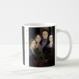 The Brontës ~ Restored Pillar Portrait Coffee Mug