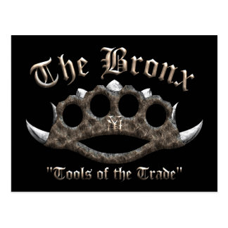 The Bronx - Spiked Brass Knuckles Postcard