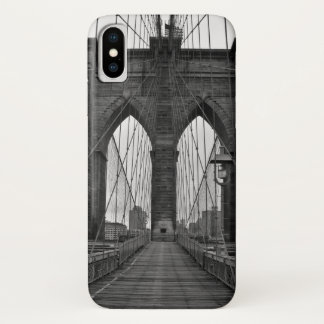 The Brooklyn Bridge in New York City iPhone X Case