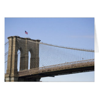 The Brooklyn Bridge in New York City, New 2 Greeting Cards