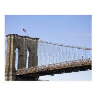 The Brooklyn Bridge in New York City, New 2 Postcard