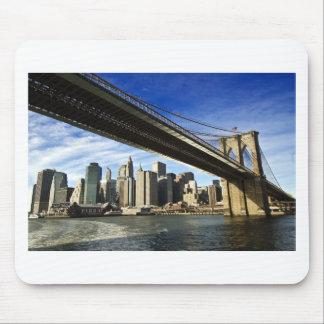 The Brooklyn Bridge Mousepads