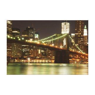 The Brooklyn Bridge - NYC Canvas Prints