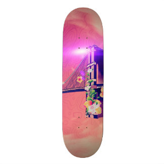 The Brooklyn Bridge Custom Skateboard