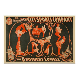 The Brothers Lowell Sports Company Commercial Poster