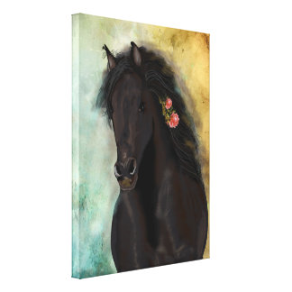 THE BROWN FRIESIAN ~ Wrapped Canvas