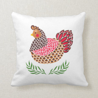 The Brown Hen Cushion