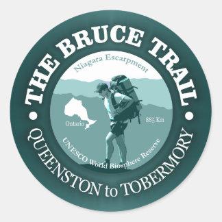 The Bruce Trail Classic Round Sticker