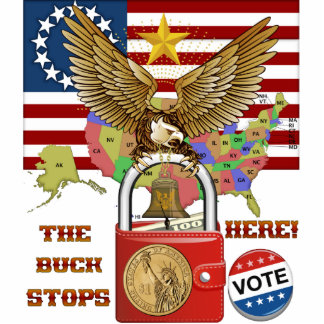 The-Buck-Stops-Here-1 Standing Photo Sculpture