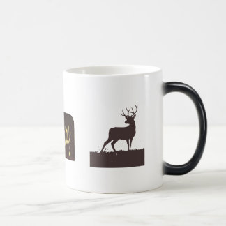 The Buck Stops Here with stag Magic Mug