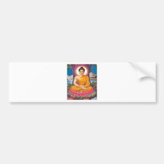 The Buddha Bumper Sticker