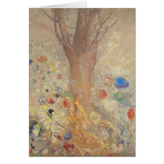 The Buddha by Odilon Redon Card