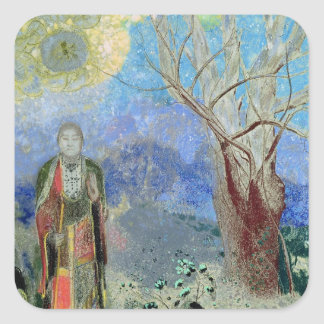 The Buddha, c.1905 Square Sticker