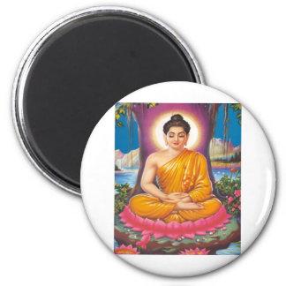 The Buddha Refrigerator Magnets