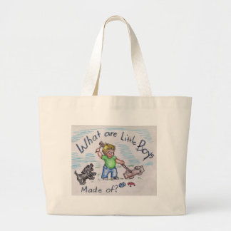 The Builder (2) Large Tote Bag